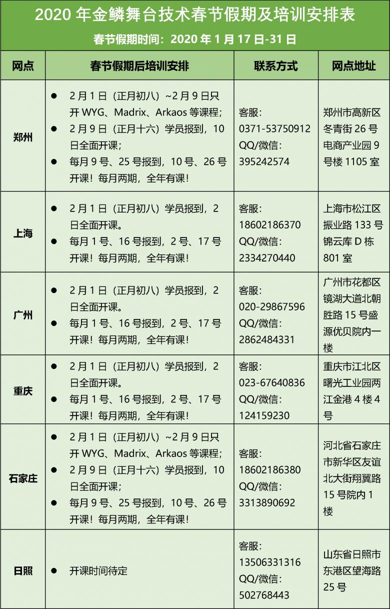 2020金鳞假期及节节后培训安排.png